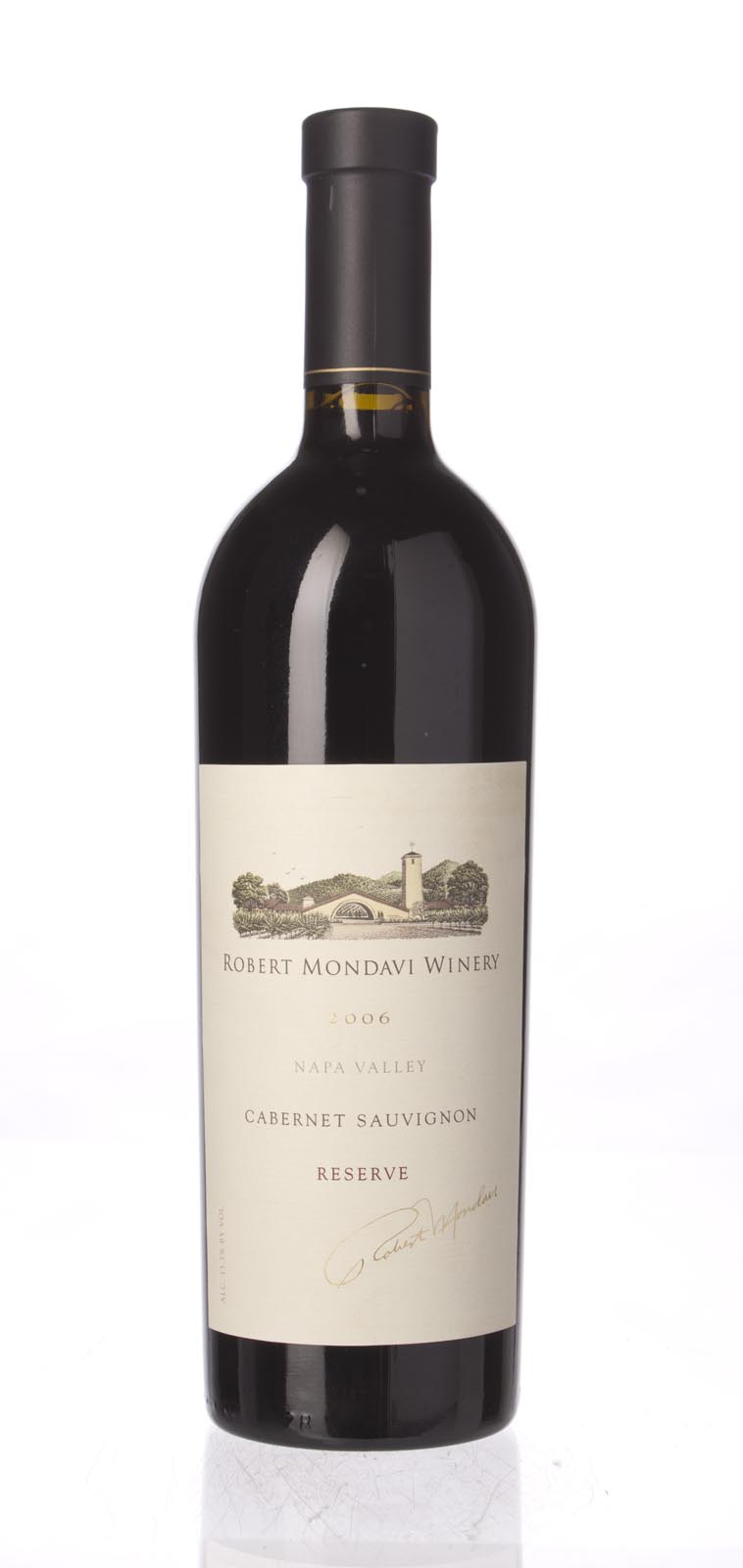 Robert Mondavi Cabernet Sauvignon Reserve 2006, 750mL (WA94, WS96) from The BPW - Merchants of rare and fine wines.