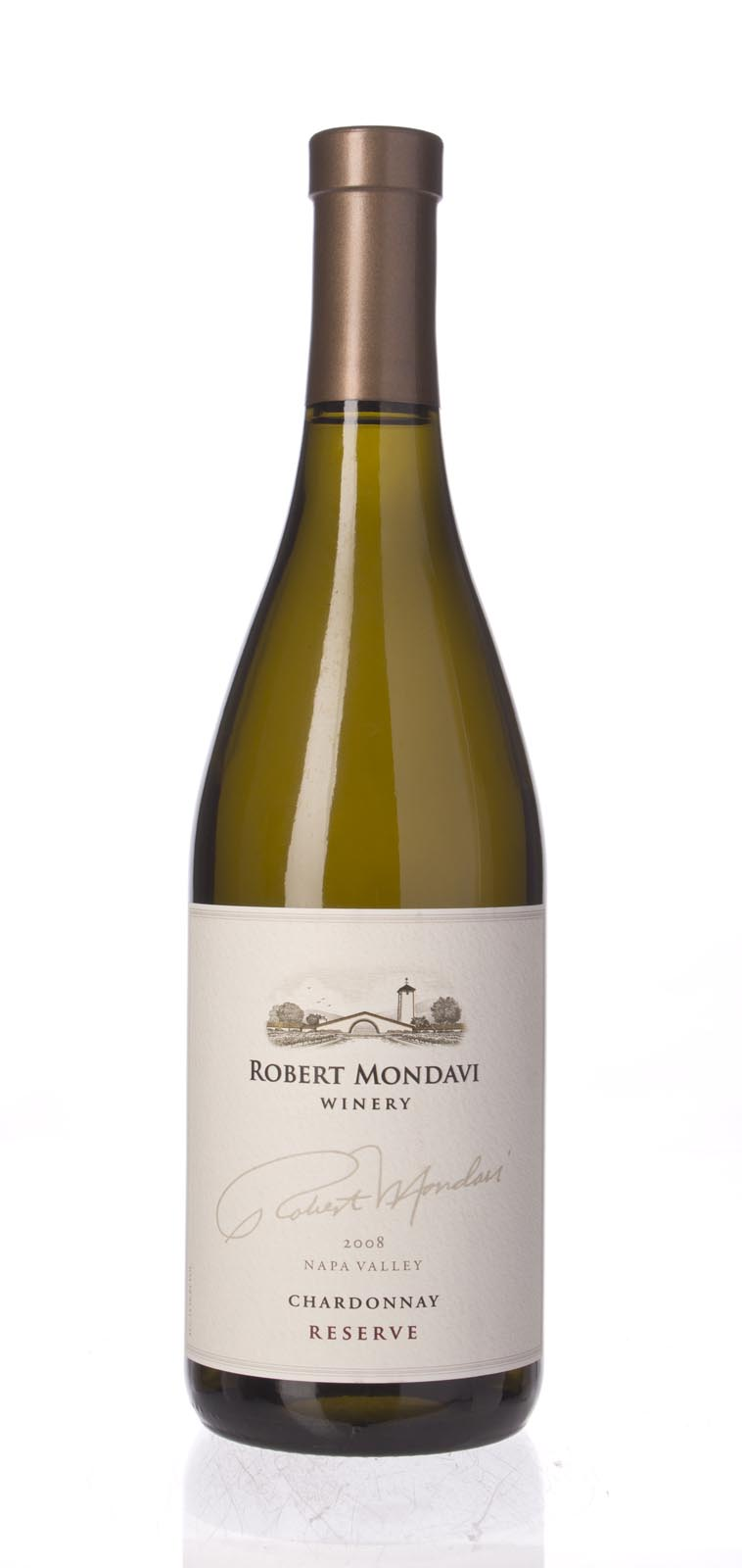 Robert Mondavi Chardonnay Reserve 2008, 750mL (WS93) from The BPW - Merchants of rare and fine wines.