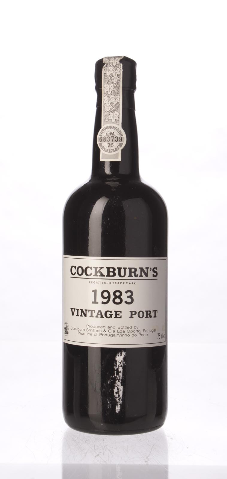 Cockburn Vintage Port 1983, 750mL (WA95, WS97) from The BPW - Merchants of rare and fine wines.