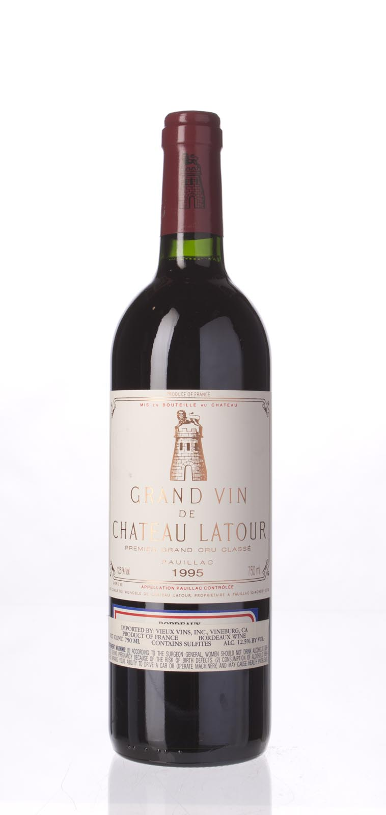 Latour 1995, 750mL (WA96, ST94, WS94) from The BPW - Merchants of rare and fine wines.