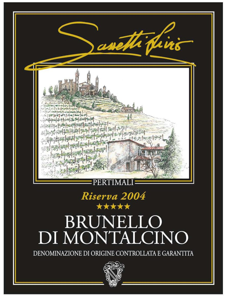 Pertimali Brunello di Montalcino Riserva 2007, 750ml (JS97) from The BPW - Merchants of rare and fine wines.
