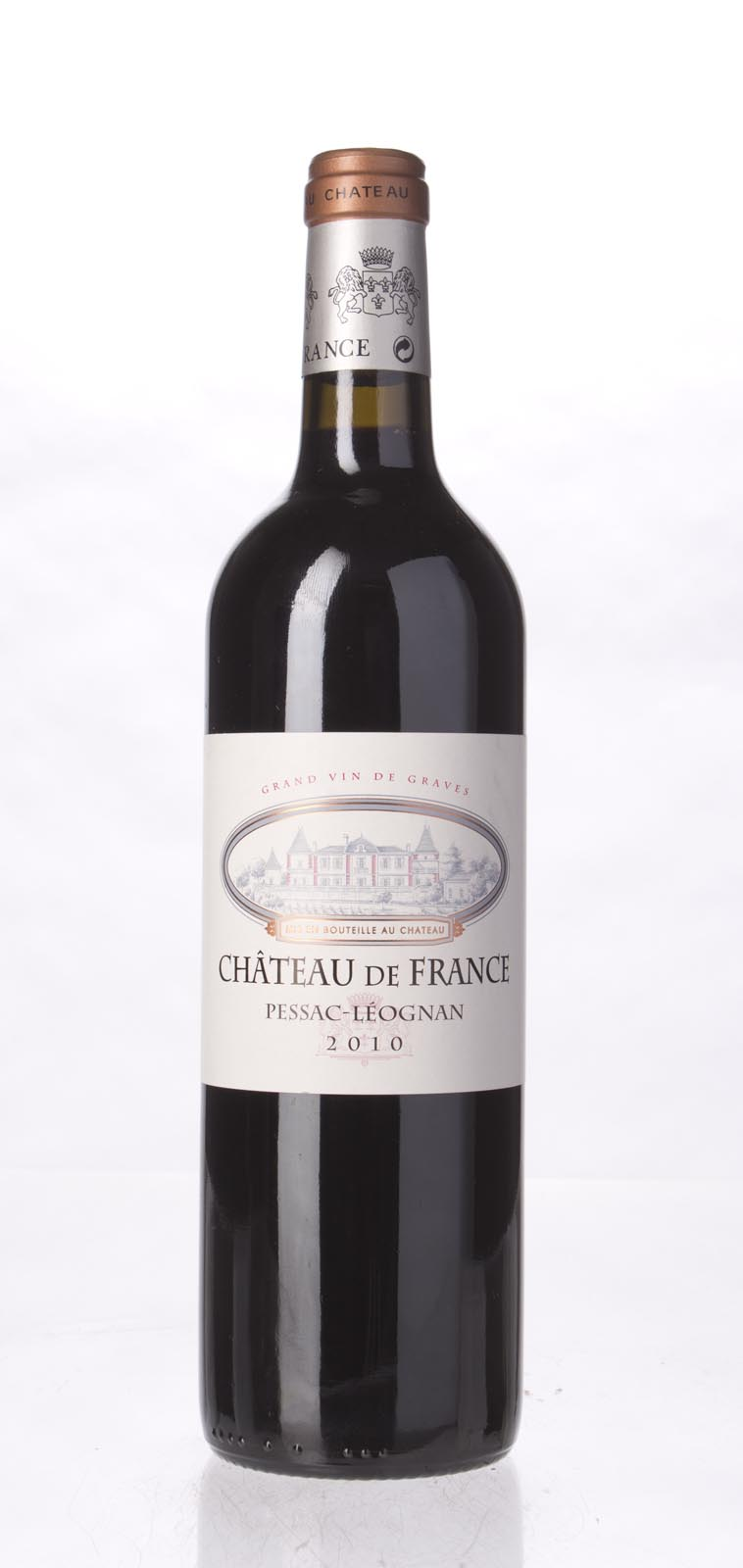 Chateau de France Pessac Leognan 2010, 750ml () from The BPW - Merchants of rare and fine wines.