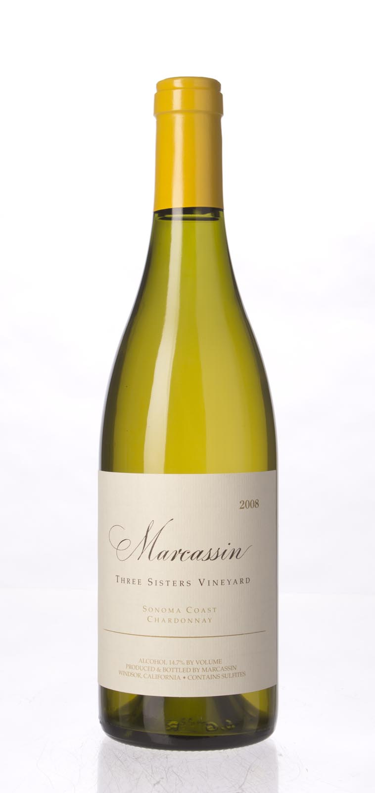 Marcassin Chardonnay Three Sisters Vineyard 2008, 750mL (WA97) from The BPW - Merchants of rare and fine wines.