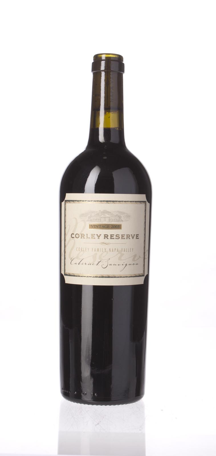 Monticello Vineyards Cabernet Sauvignon Corley Reserve 2003, 750ml () from The BPW - Merchants of rare and fine wines.