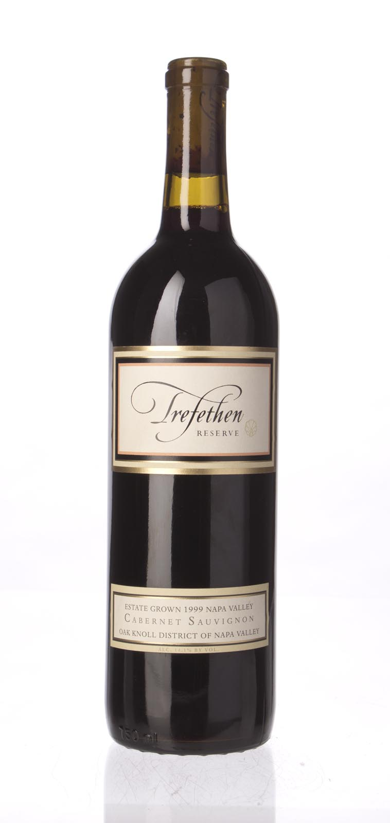 Trefethen Cabernet Sauvignon Estate Reserve 1999, 750ml () from The BPW - Merchants of rare and fine wines.
