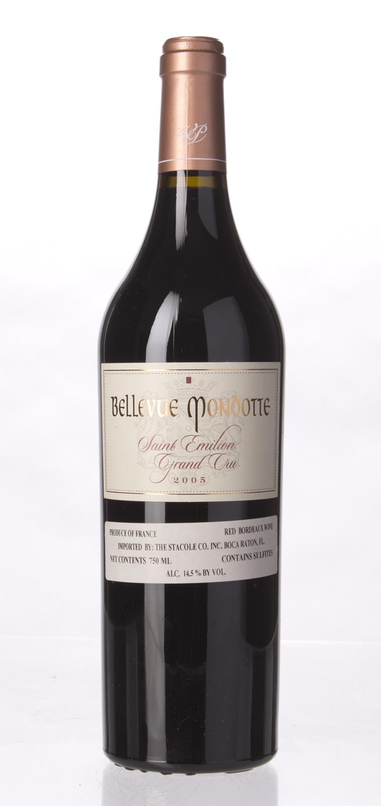 Bellevue Mondotte 2005,  (WA99, WS97) from The BPW - Merchants of rare and fine wines.