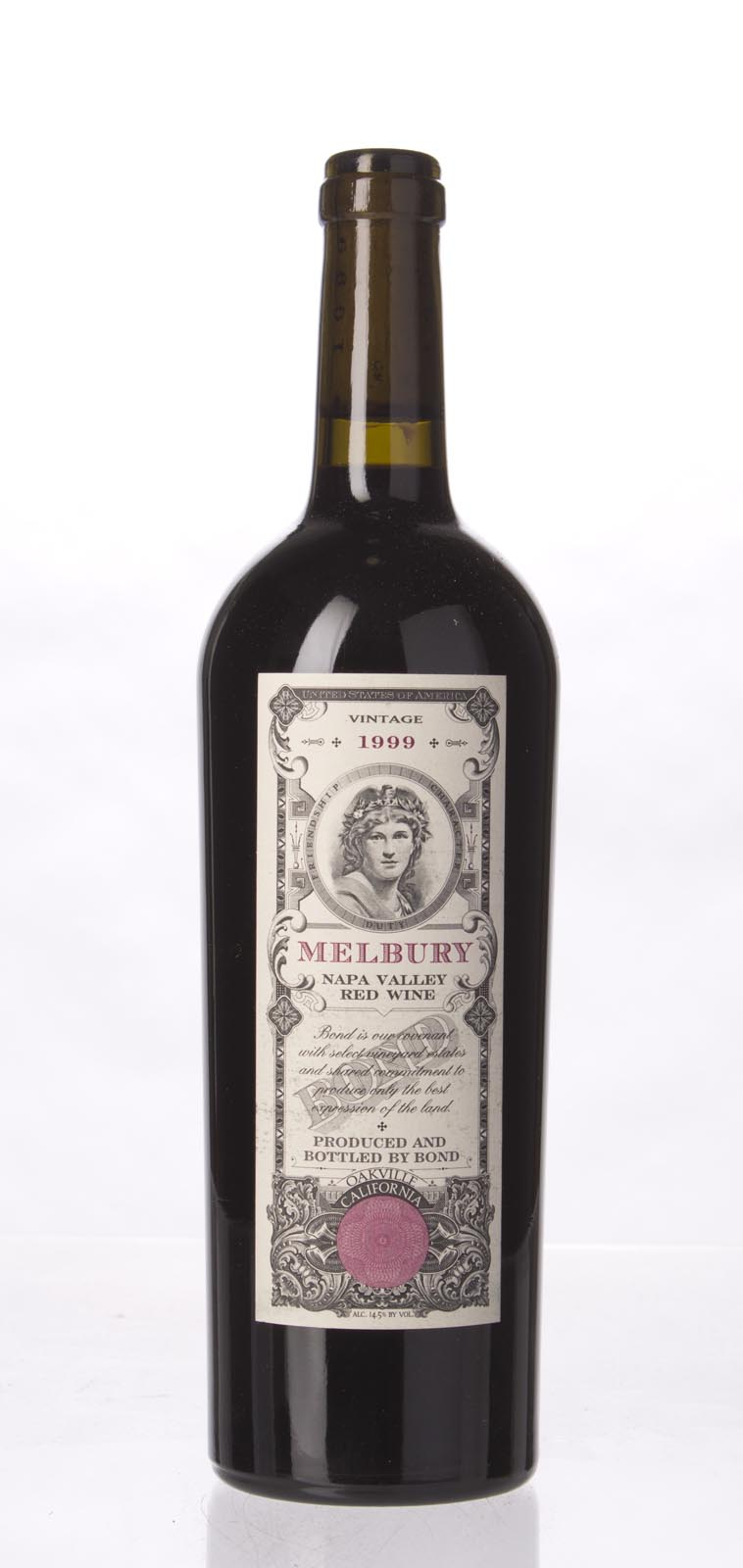 Bond Melbury 1999,  (WS94) from The BPW - Merchants of rare and fine wines.