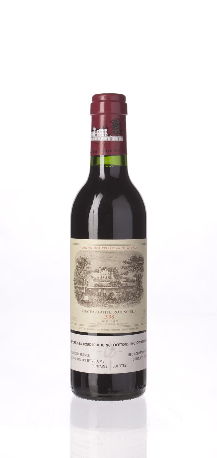Lafite Rothschild 1998, 375ml (WA98) from The BPW - Merchants of rare and fine wines.