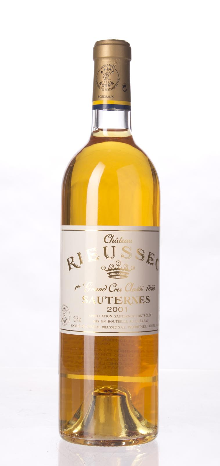 Rieussec 2001,  (WA99, WS100) from The BPW - Merchants of rare and fine wines.