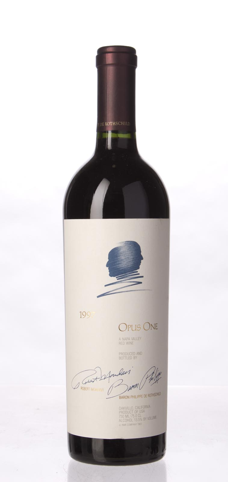 Opus One Proprietary Red Wine 1997,  (WS94) from The BPW - Merchants of rare and fine wines.