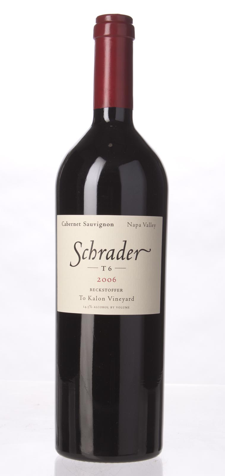 Schrader Cellars Cabernet Sauvignon Beckstoffer To Kalon Vineyard T6 2006,  (WA98, WS99) from The BPW - Merchants of rare and fine wines.