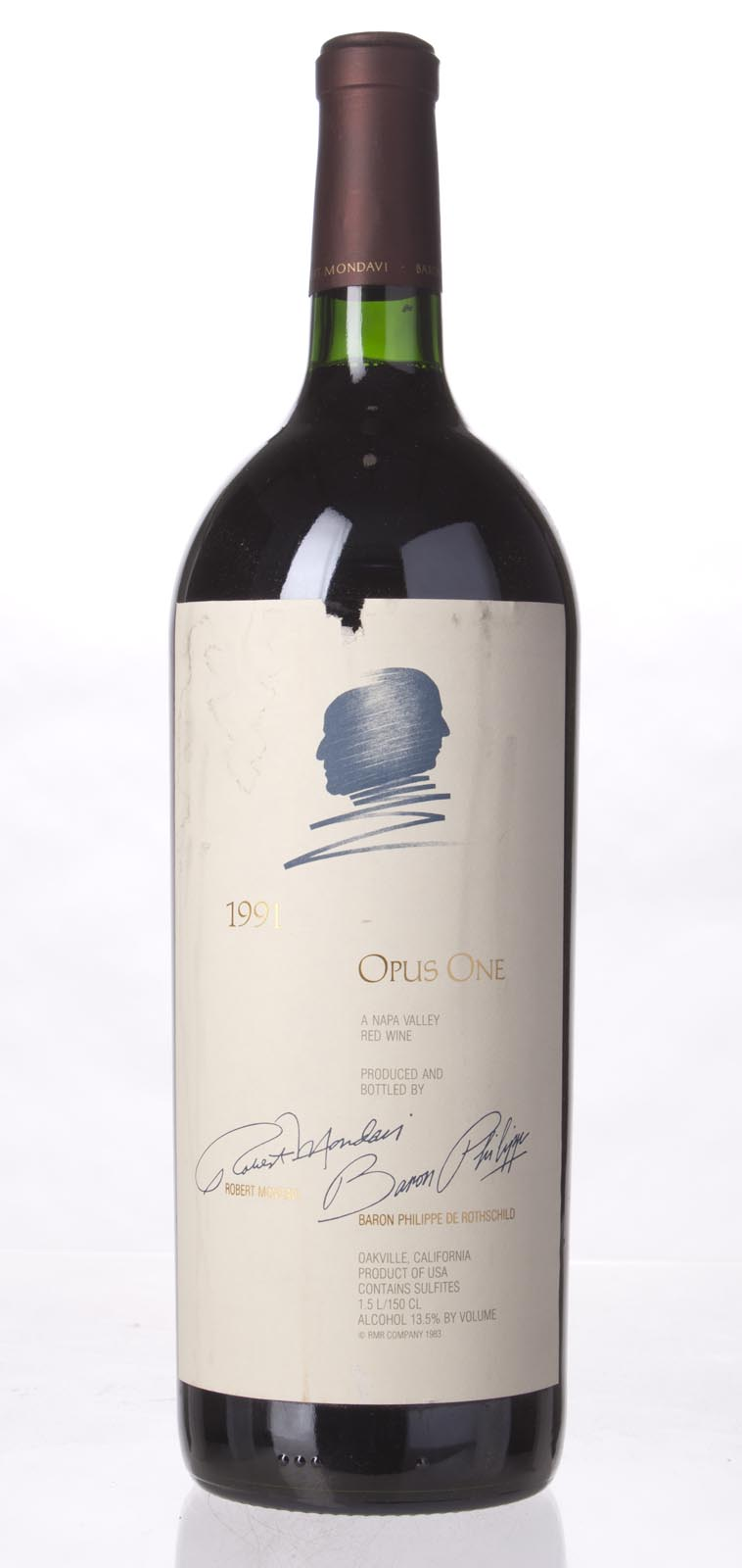 Opus One Proprietary Red Wine 1991, 1.5L (WS97) from The BPW - Merchants of rare and fine wines.