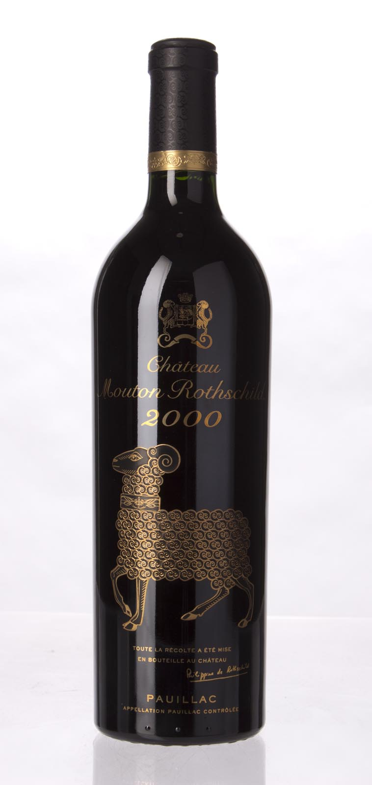 Mouton Rothschild 2000, 750mL (WA96+, ST95) from The BPW - Merchants of rare and fine wines.