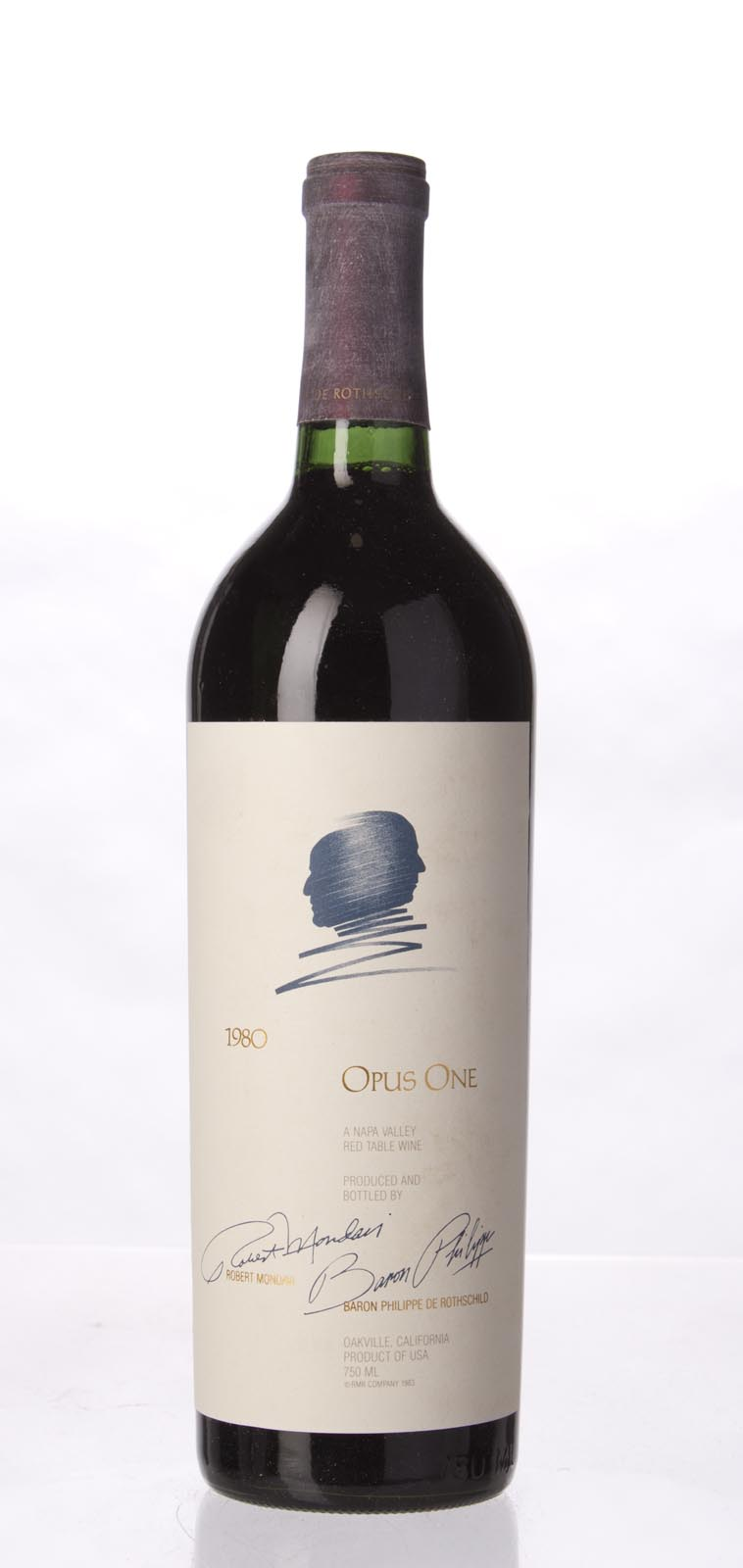 Opus One Proprietary Red Wine 1980, 750mL (WS91) from The BPW - Merchants of rare and fine wines.