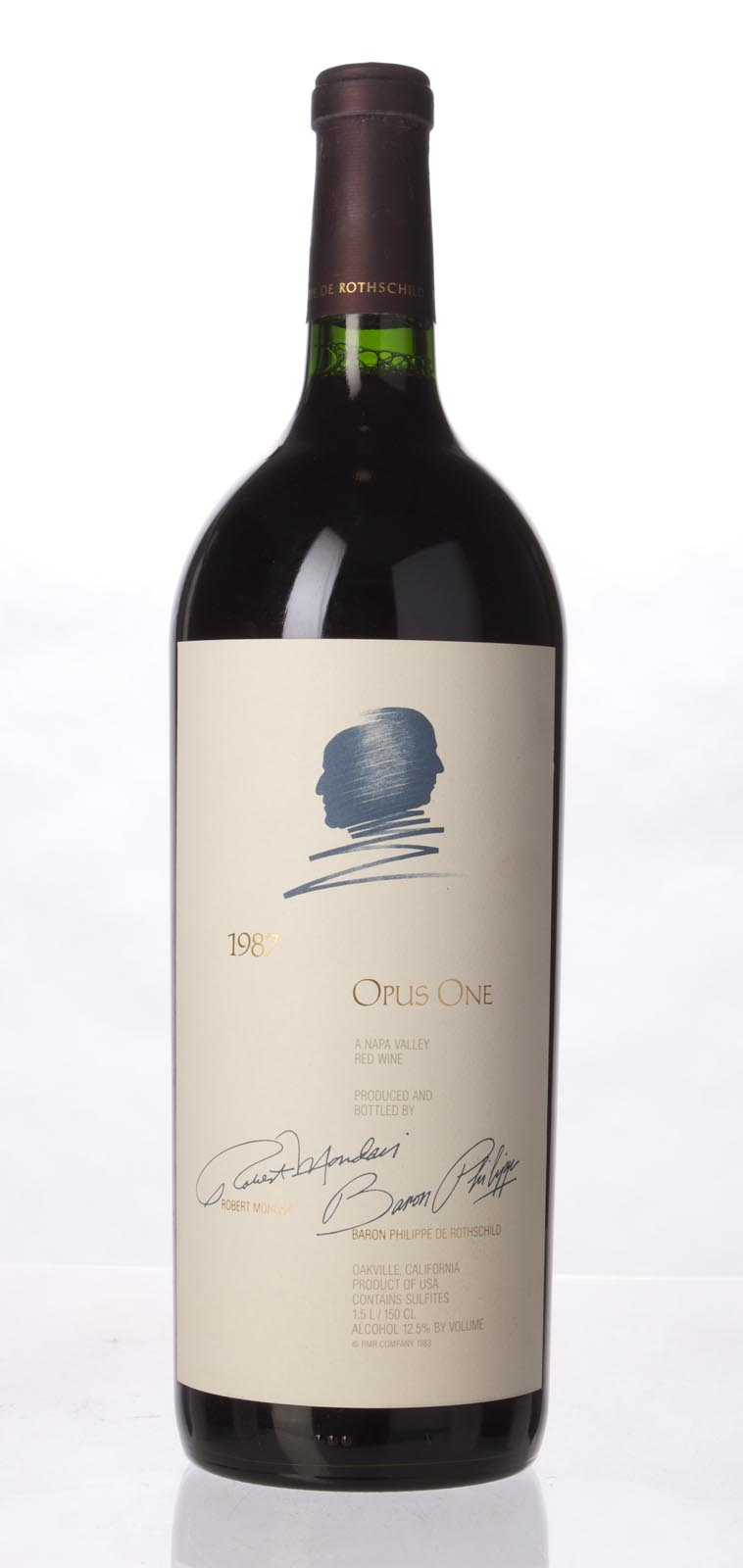 Opus One Proprietary Red Wine 1987, 1.5L (WS97) from The BPW - Merchants of rare and fine wines.