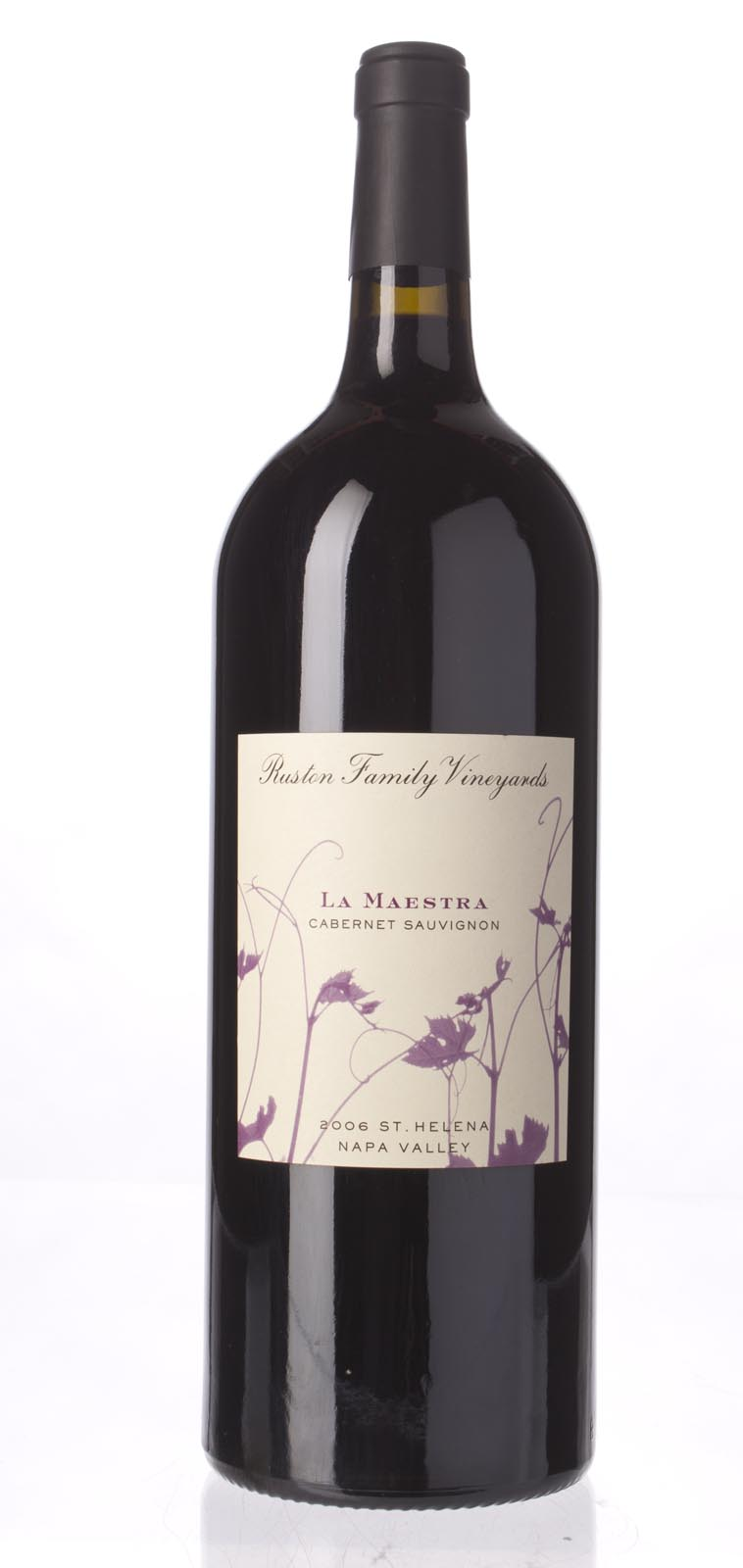 Ruston Family Vineyards La Maestra 2006, 1.5L (WA89) from The BPW - Merchants of rare and fine wines.
