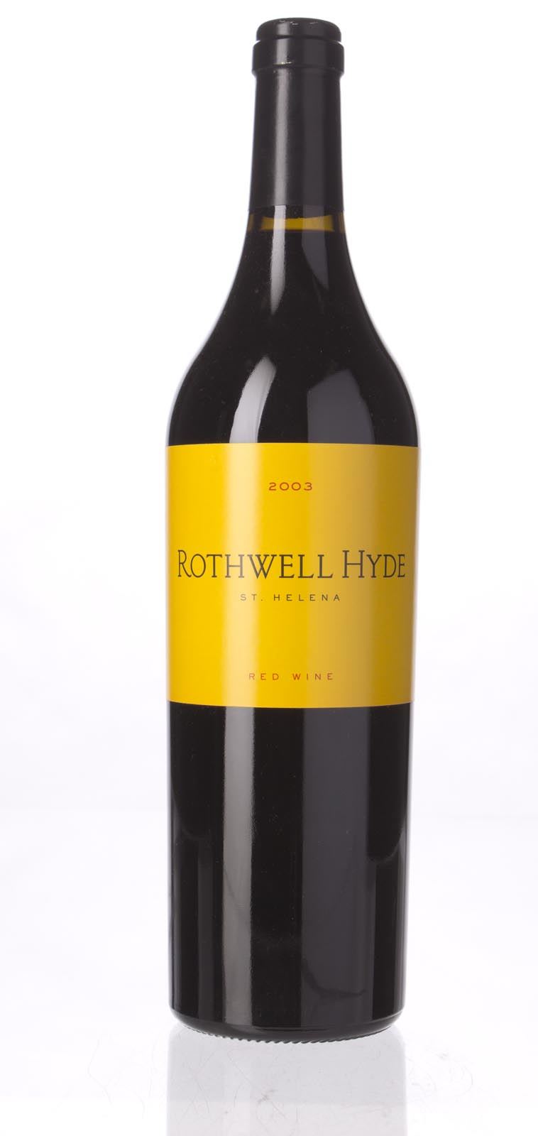 Rothwell Hyde Proprietary Red Napa Valley 2003, 750mL () from The BPW - Merchants of rare and fine wines.