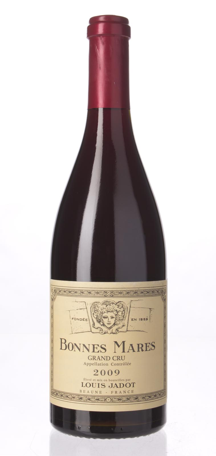 Louis Jadot Bonnes Mares 2009, 750mL (JG94, WA93-95, ST93-96) from The BPW - Merchants of rare and fine wines.