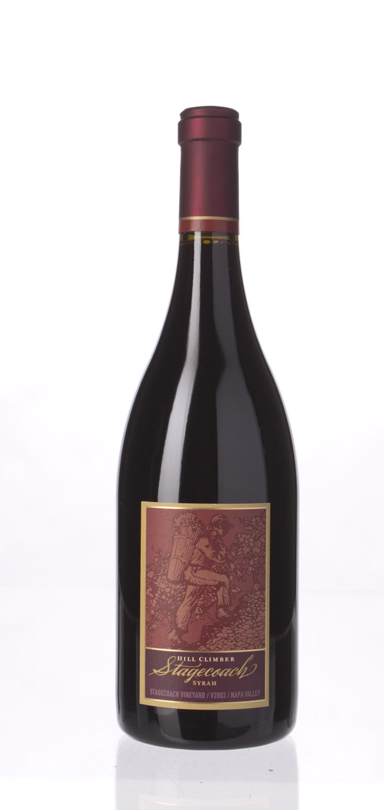 Hill Climber Syrah Stagecoach Vineyards 2003, 750mL (WS93) from The BPW - Merchants of rare and fine wines.
