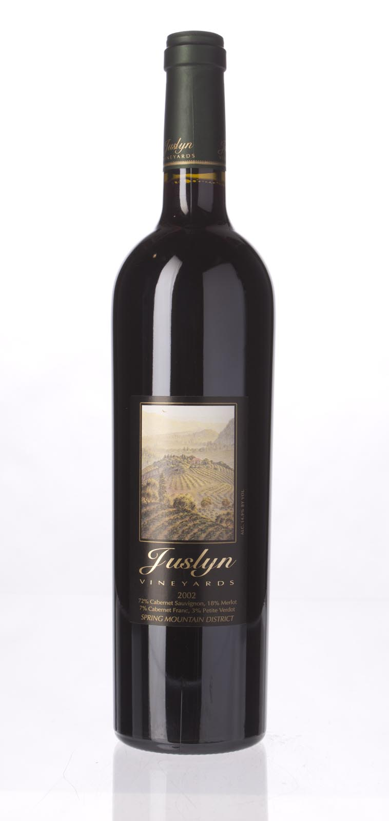 Juslyn Proprietary Red Wine 2002, 750mL () from The BPW - Merchants of rare and fine wines.