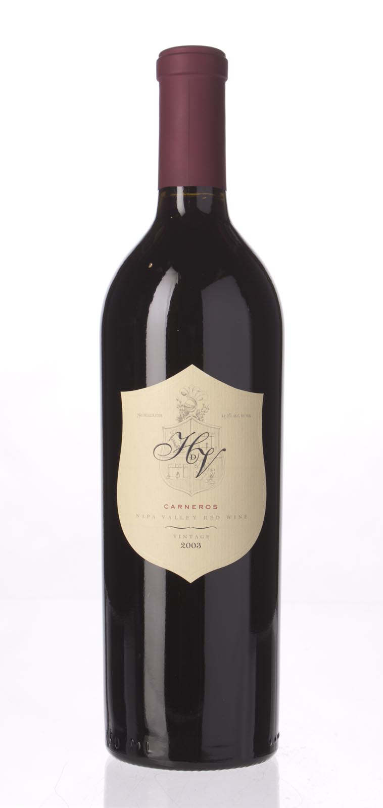 HdV Winery Proprietary Red Carneros 2003, 750mL (ST89) from The BPW - Merchants of rare and fine wines.