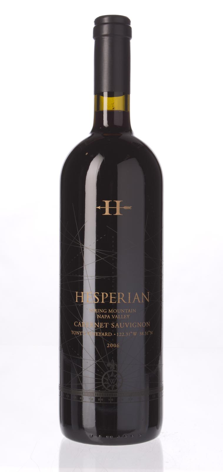 Hesperian Cabernet Sauvignon Tony`s Vineyard 2006,  () from The BPW - Merchants of rare and fine wines.