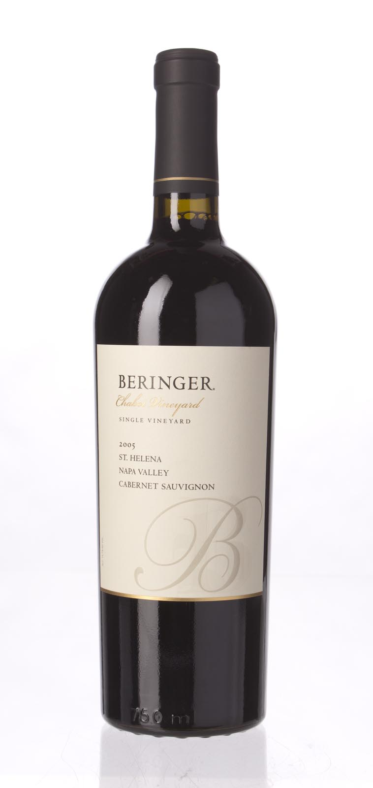 Beringer Cabernet Sauvignon Chabot Vineyard 2005, 750mL (WA92, ST91+) from The BPW - Merchants of rare and fine wines.