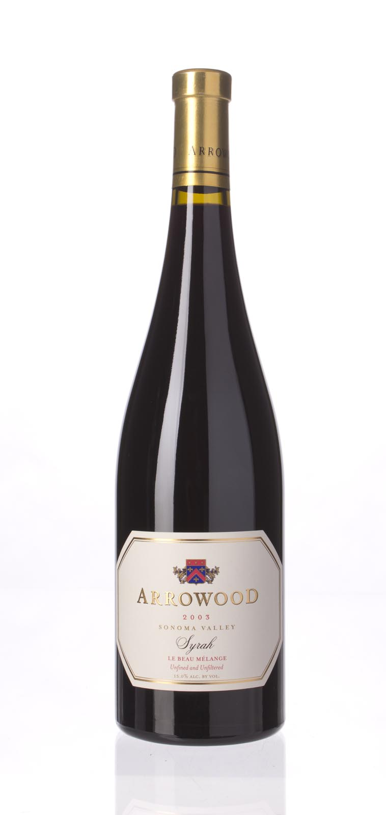 Arrowood Syrah le Beau Melange 2003, 750mL (WA89) from The BPW - Merchants of rare and fine wines.