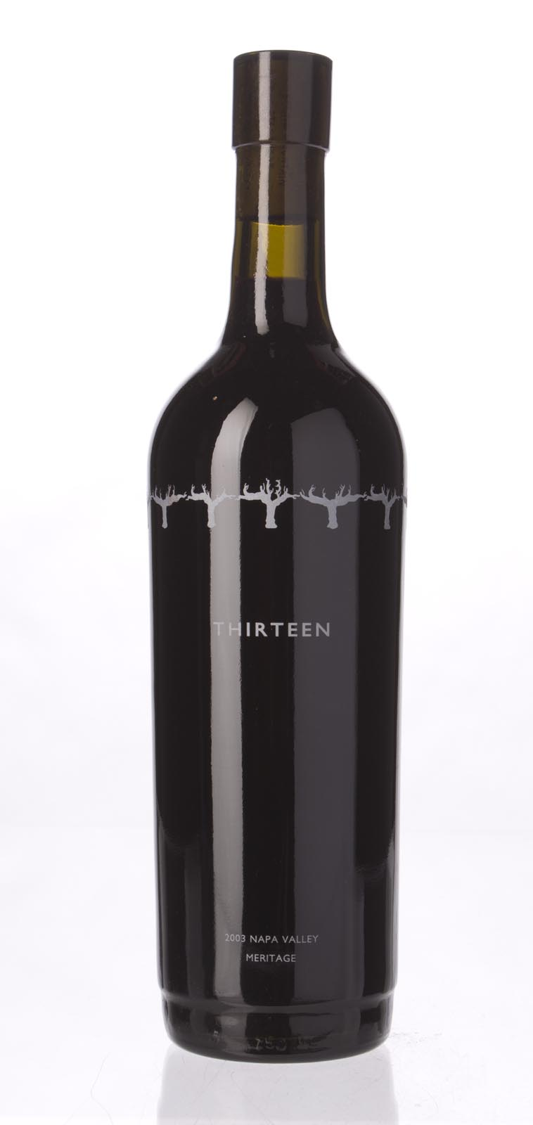13 Appellations Proprietary Red Thirteen 2003, 750ml () from The BPW - Merchants of rare and fine wines.