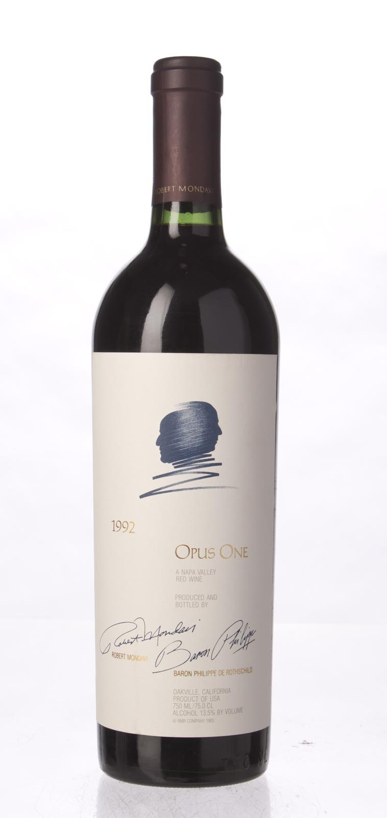 Opus One Proprietary Red Wine 1992, 750mL (WA92, WS92) from The BPW - Merchants of rare and fine wines.