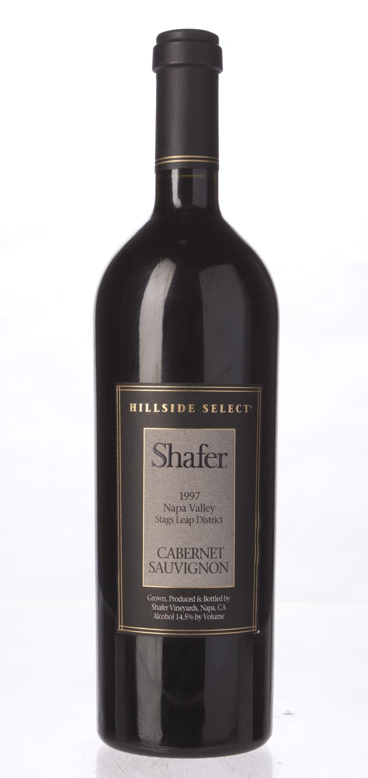 Shafer Cabernet Sauvignon Hillside Select 1997, 750mL (WA99, WS97) from The BPW - Merchants of rare and fine wines.