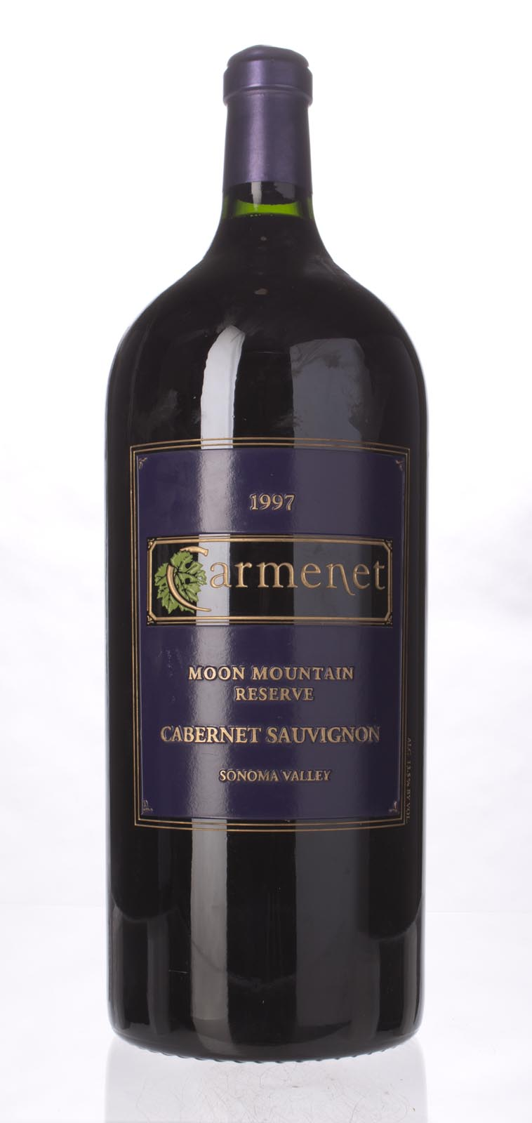 Carmenet Cabernet Sauvignon Moon Mountain Reserve 1997, 6L () from The BPW - Merchants of rare and fine wines.