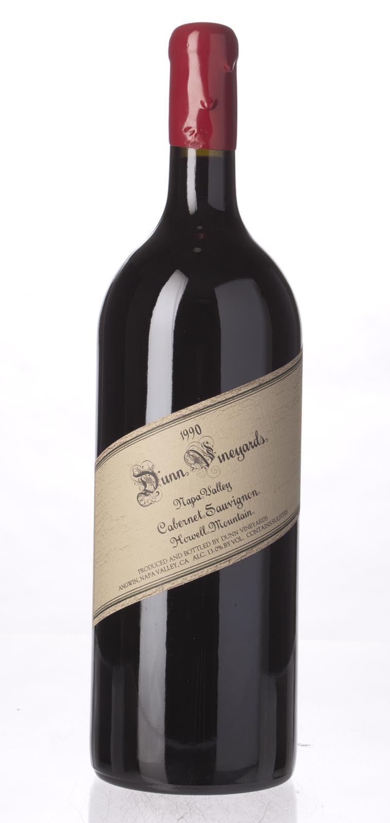 Dunn Cabernet Sauvignon Howell Mountain 1990, 1.5L (WA96, WS91) from The BPW - Merchants of rare and fine wines.