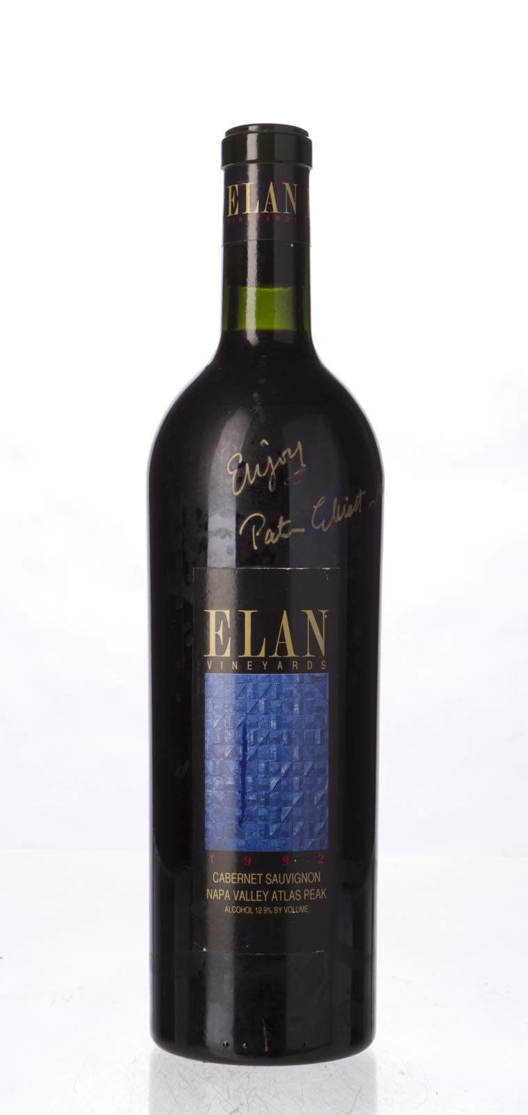 Elan Vineyards Cabernet Sauvignon Atlas Peak 1992, 750mL (WS91) from The BPW - Merchants of rare and fine wines.