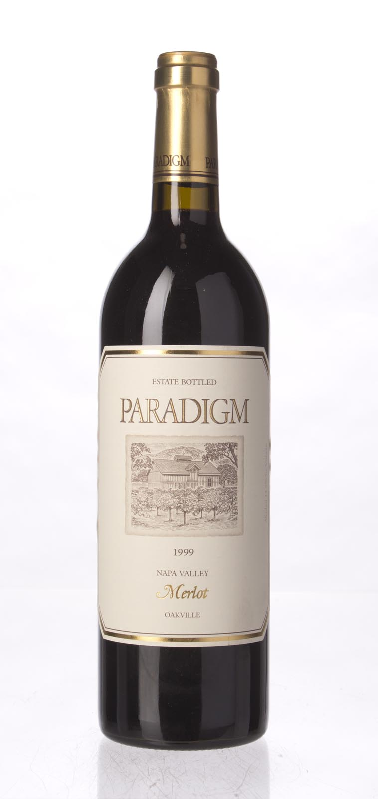 Paradigm Merlot Oakville Estate 1999, 750mL () from The BPW - Merchants of rare and fine wines.