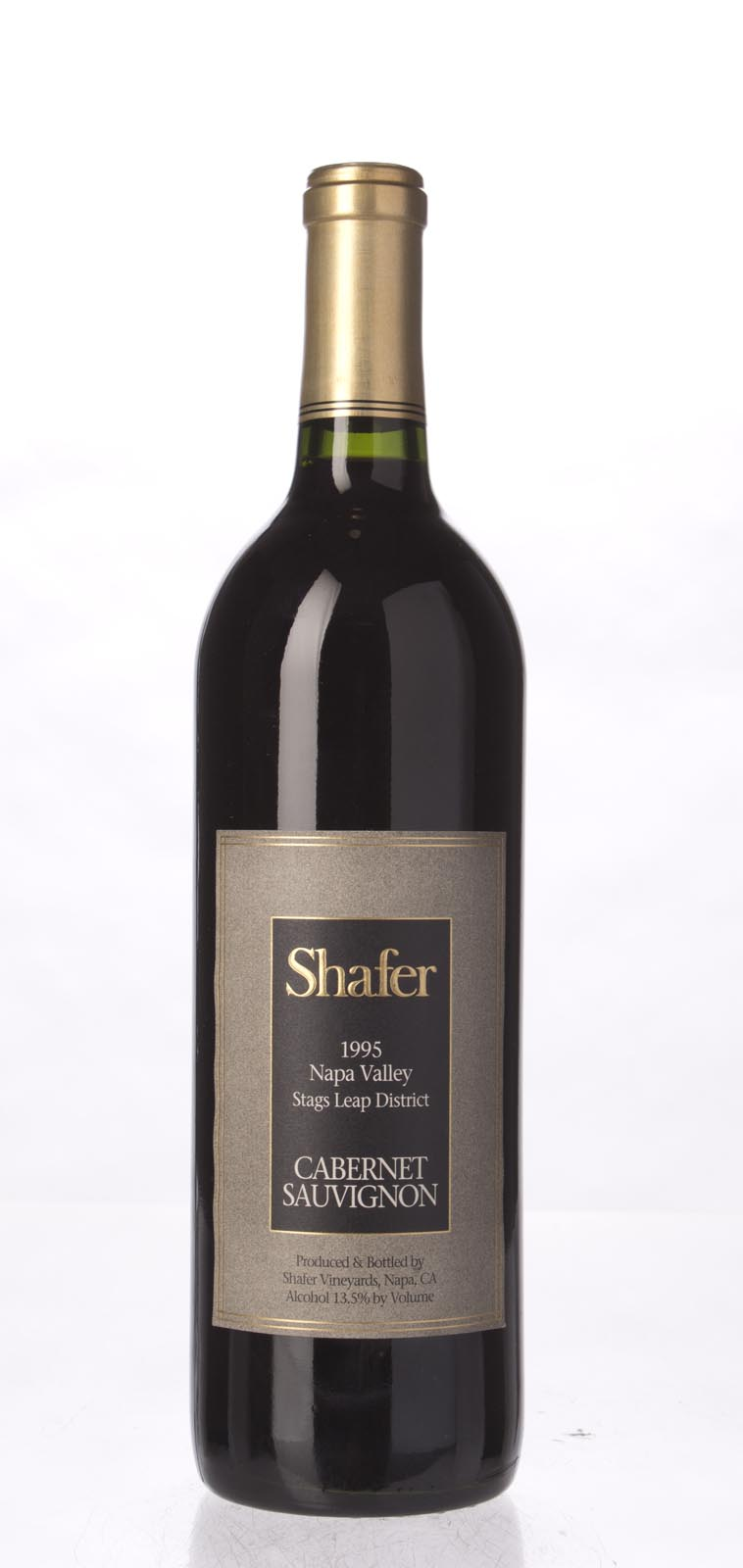 Shafer Cabernet Sauvignon Stag`s Leap District 1995, 750mL (WA90-92, WS93) from The BPW - Merchants of rare and fine wines.