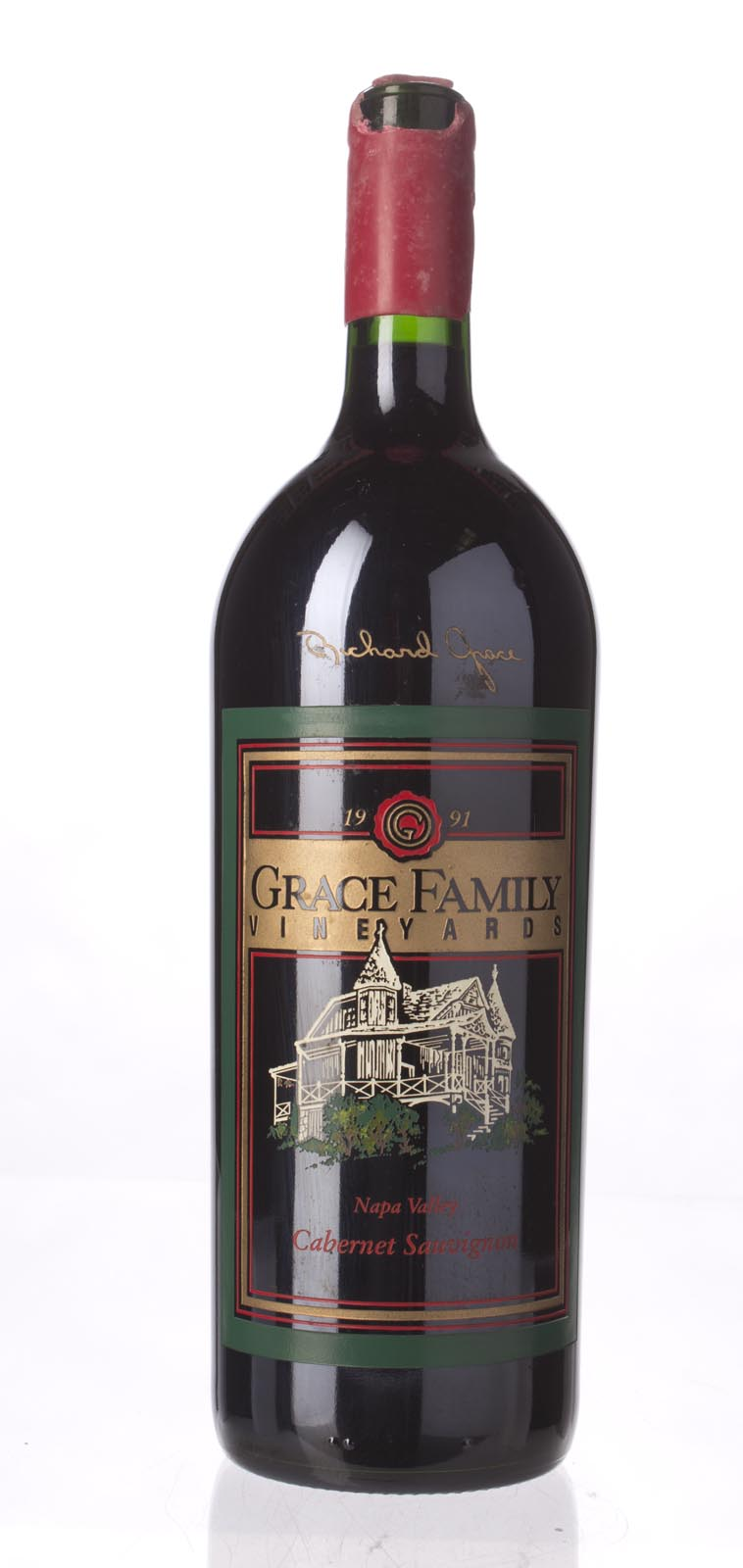 Grace Family Vineyard Cabernet Sauvignon 1991, 1.5L (WA89) from The BPW - Merchants of rare and fine wines.