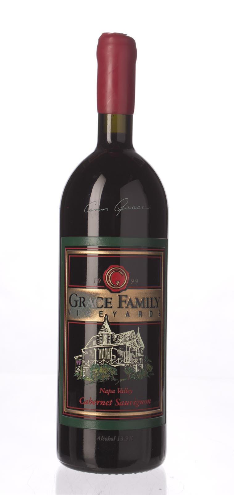 Grace Family Vineyard Cabernet Sauvignon (1L) 1999,  (WA89) from The BPW - Merchants of rare and fine wines.