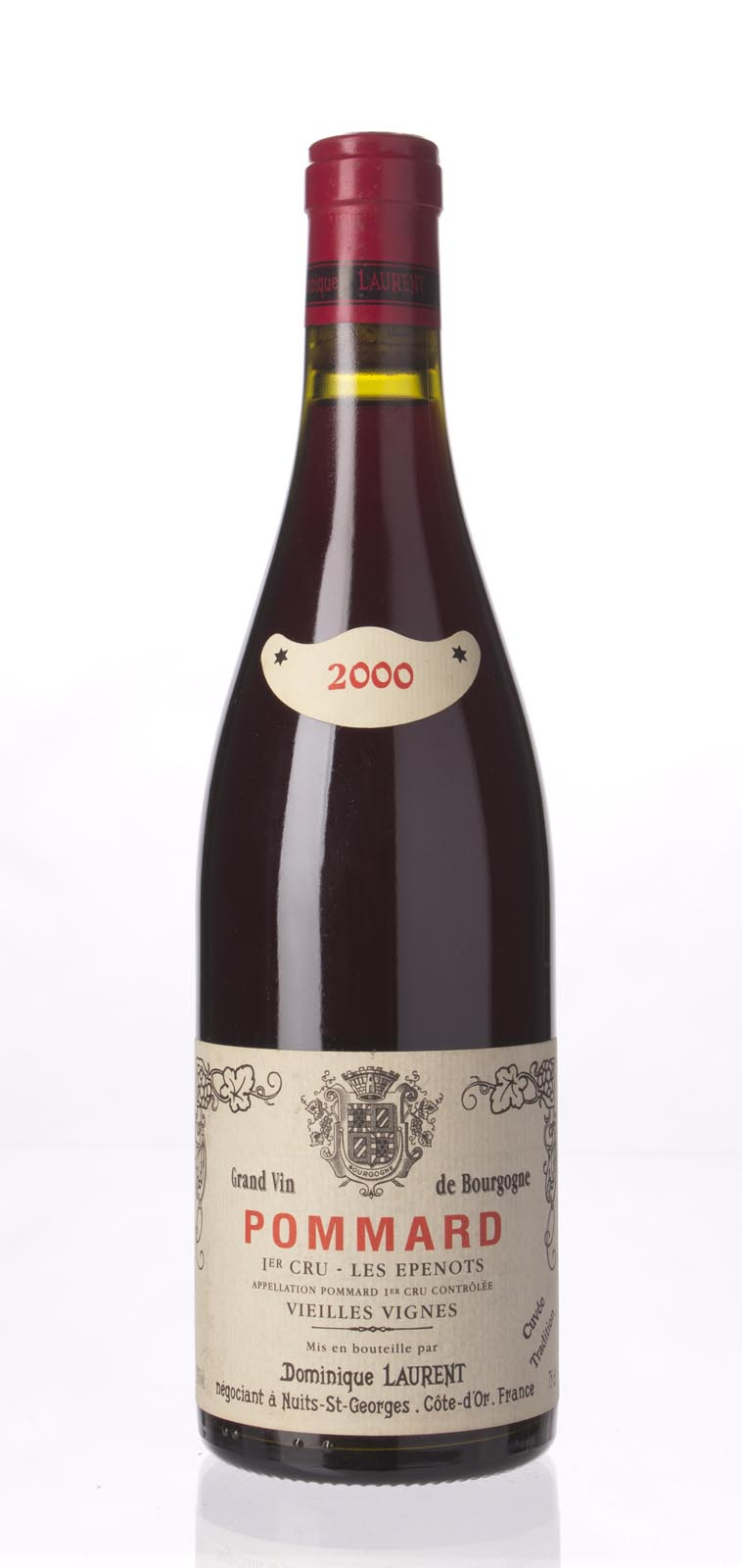 Dominique Laurent Pommard les Epenots 2000, 750mL () from The BPW - Merchants of rare and fine wines.
