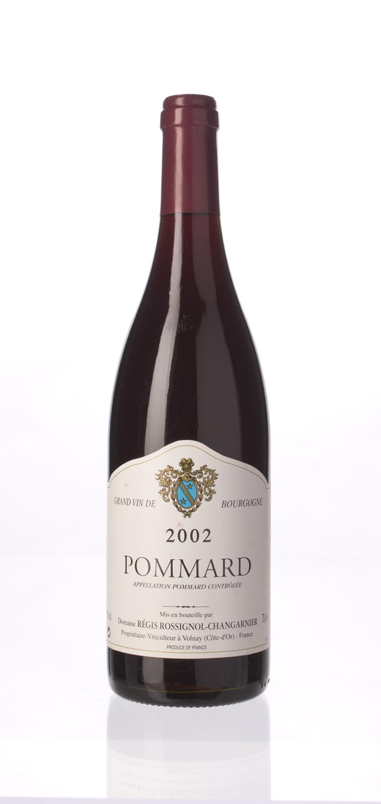 Rossignol Changarnier Pommard 2002, 750mL () from The BPW - Merchants of rare and fine wines.