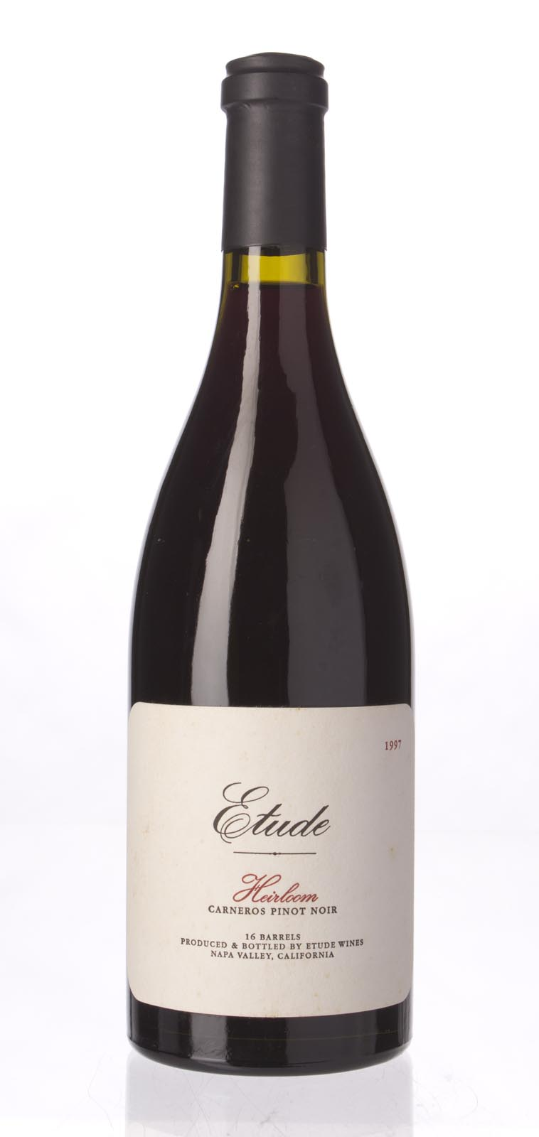 Etude Pinot Noir Heirloom 1997, 750mL (ST91) from The BPW - Merchants of rare and fine wines.