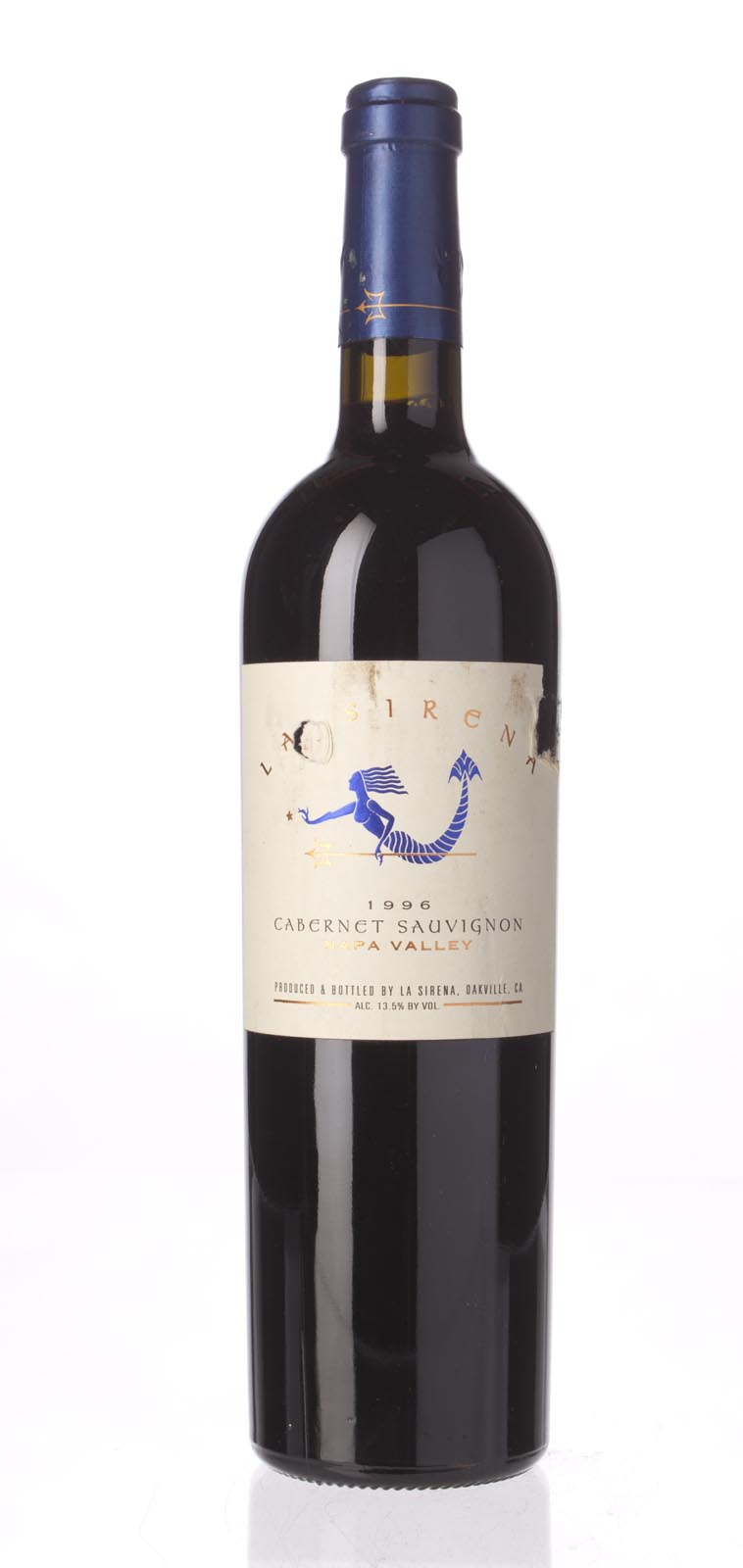 La Sirena Cabernet Sauvignon Napa Valley 1996, 750mL () from The BPW - Merchants of rare and fine wines.