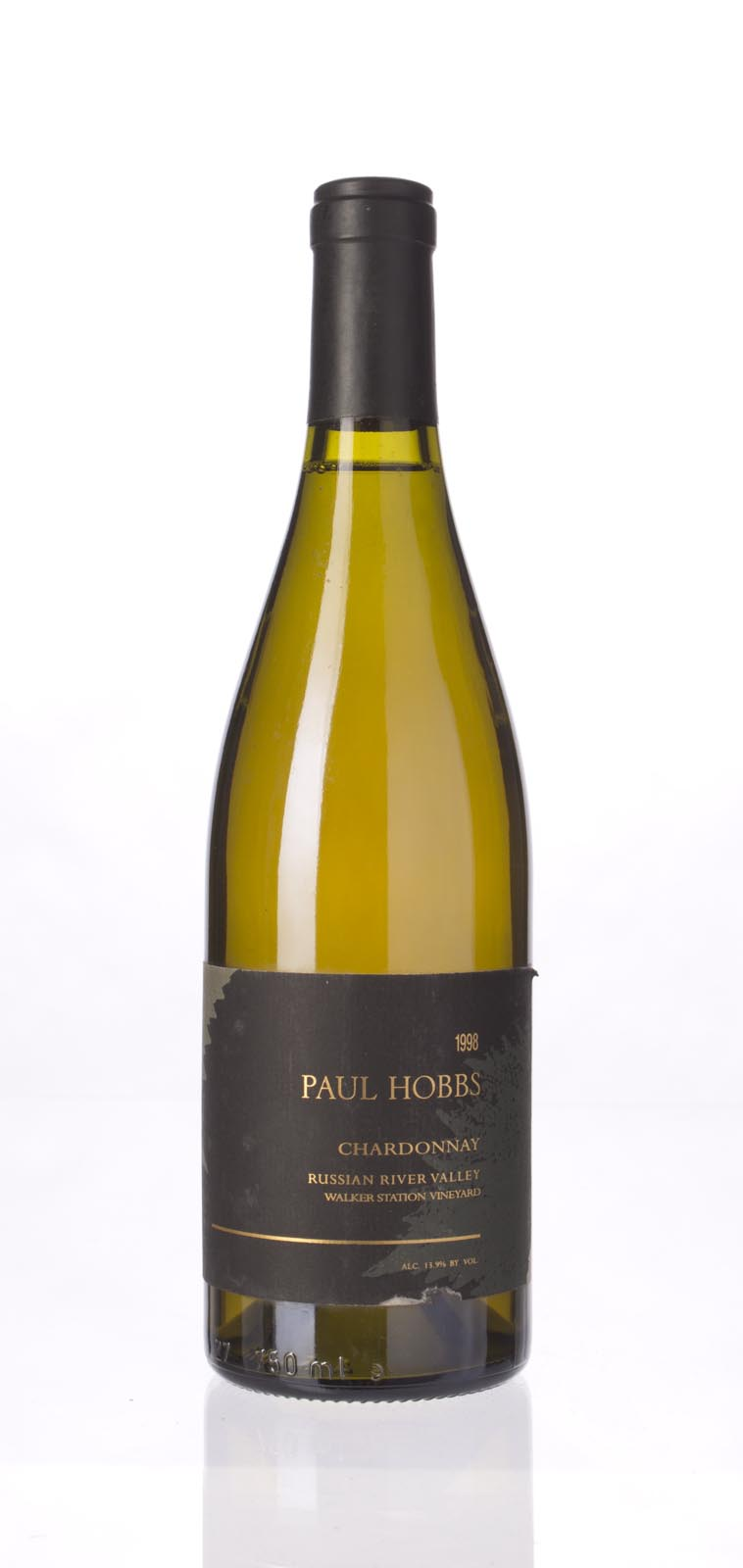 Paul Hobbs Chardonnay Walker Station Vineyard 1998, 750mL (WA92) from The BPW - Merchants of rare and fine wines.