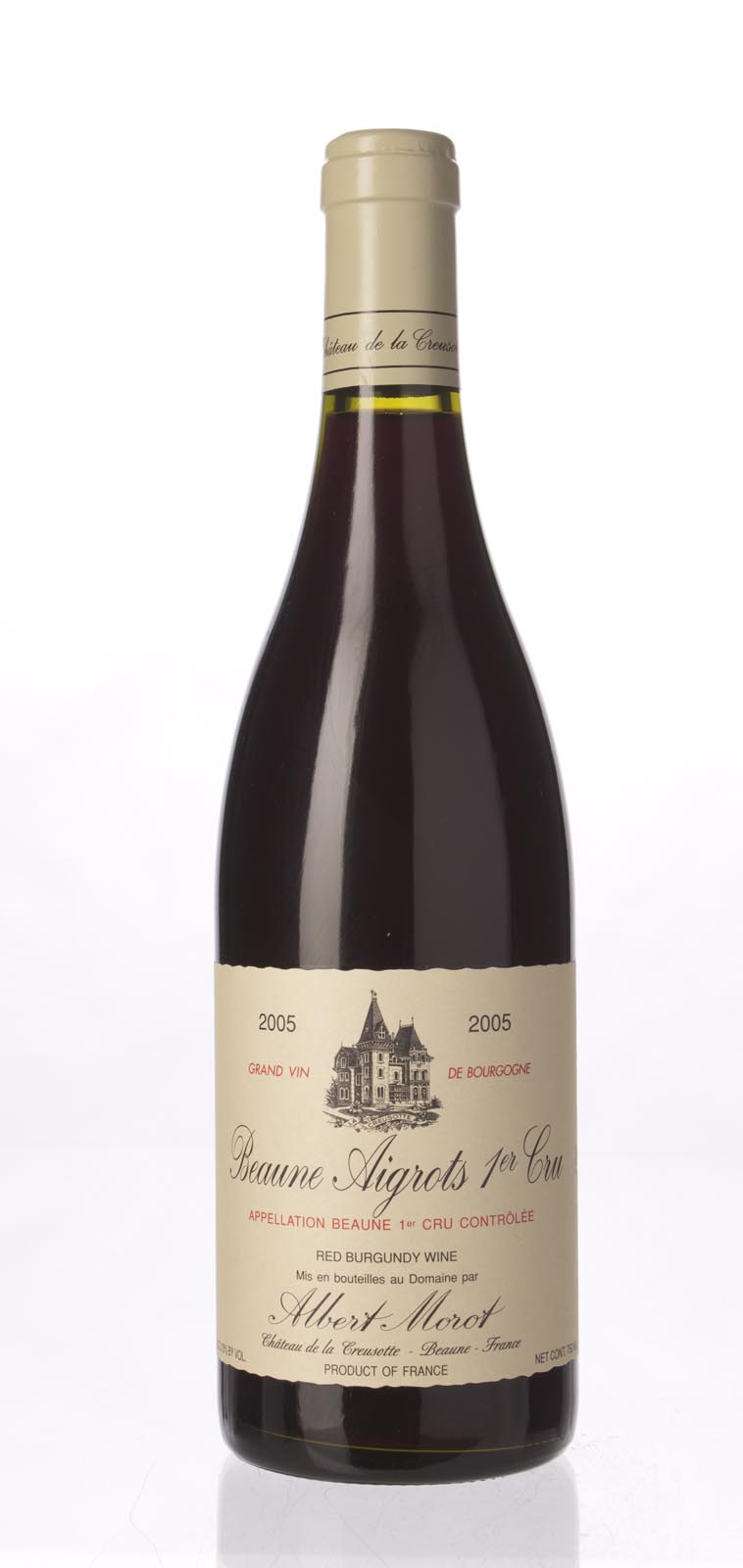 Albert Morot Beaune Aigrots 2005, 750ml () from The BPW - Merchants of rare and fine wines.
