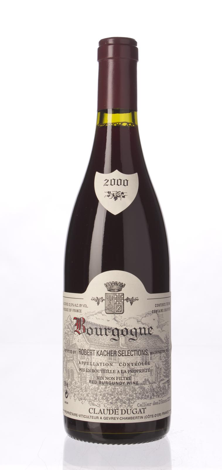 Domaine Claude Dugat Bourgogne 2000, 750ml () from The BPW - Merchants of rare and fine wines.