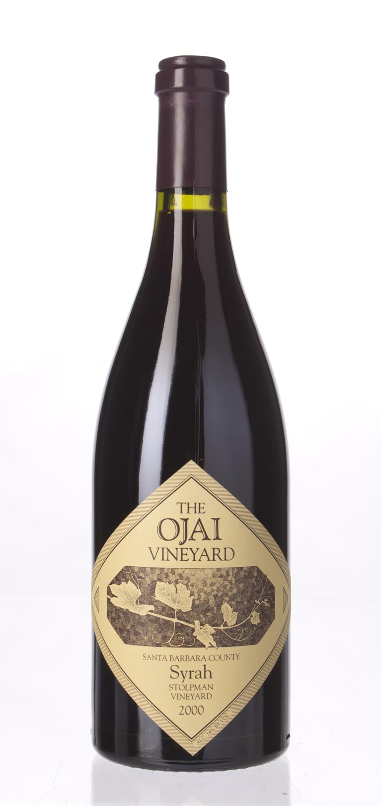 The Ojai Vineyard Syrah Stolpman Vineyard 2000, 750mL (WA91) from The BPW - Merchants of rare and fine wines.