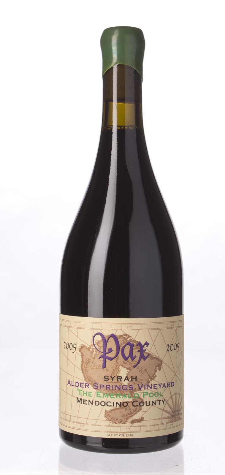 Pax Cellars Syrah Alder Springs The Emerald Pool 2005, 750mL () from The BPW - Merchants of rare and fine wines.