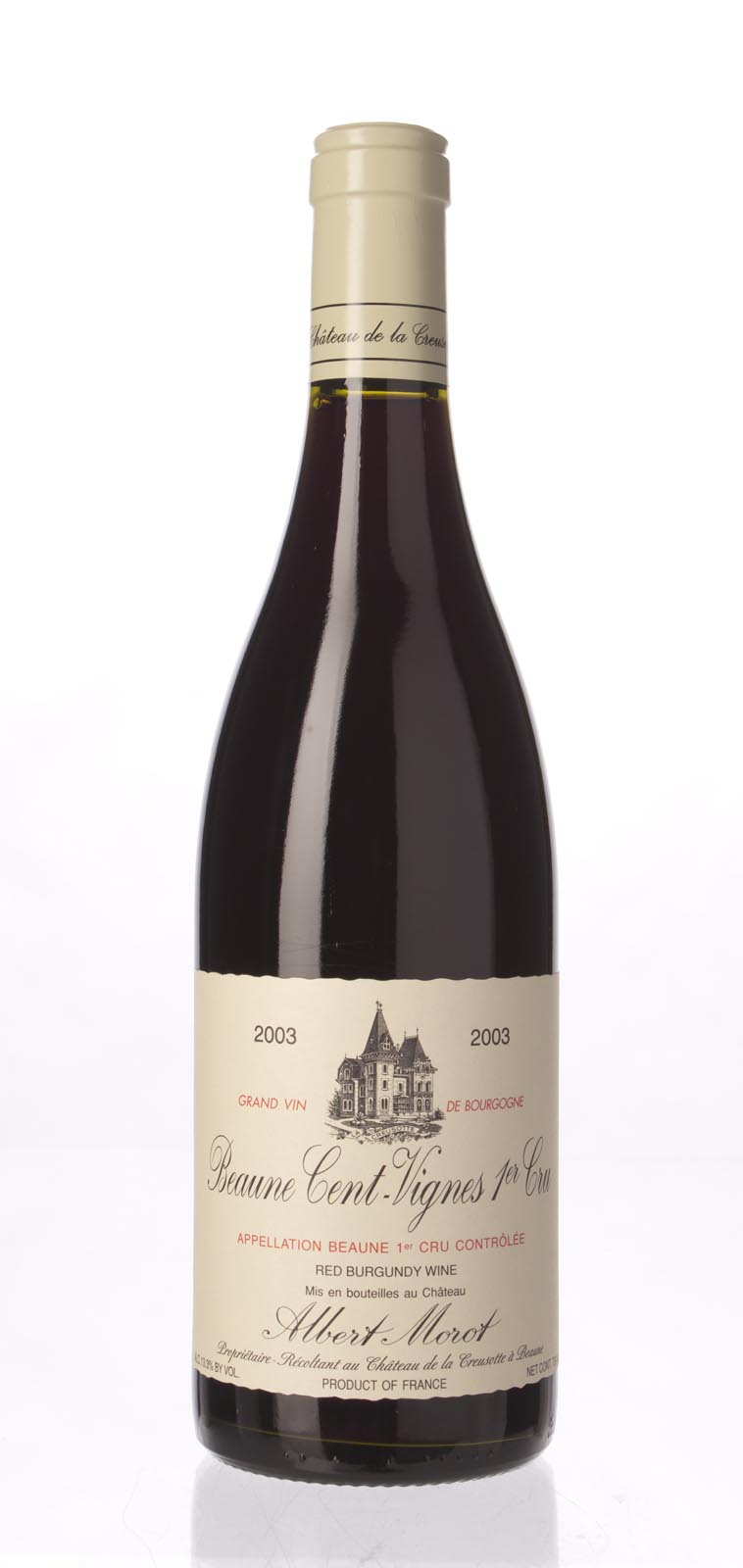 Albert Morot Beaune les Cent Vignes 2003, 750mL (ST88) from The BPW - Merchants of rare and fine wines.