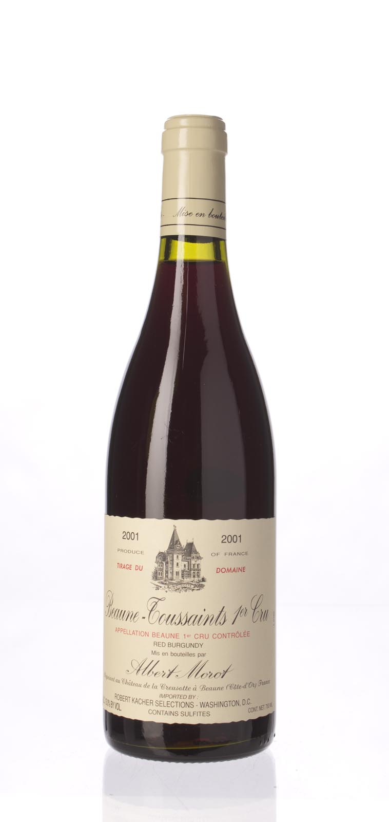 Albert Morot Beaune les Toussaints 2001, 750mL () from The BPW - Merchants of rare and fine wines.