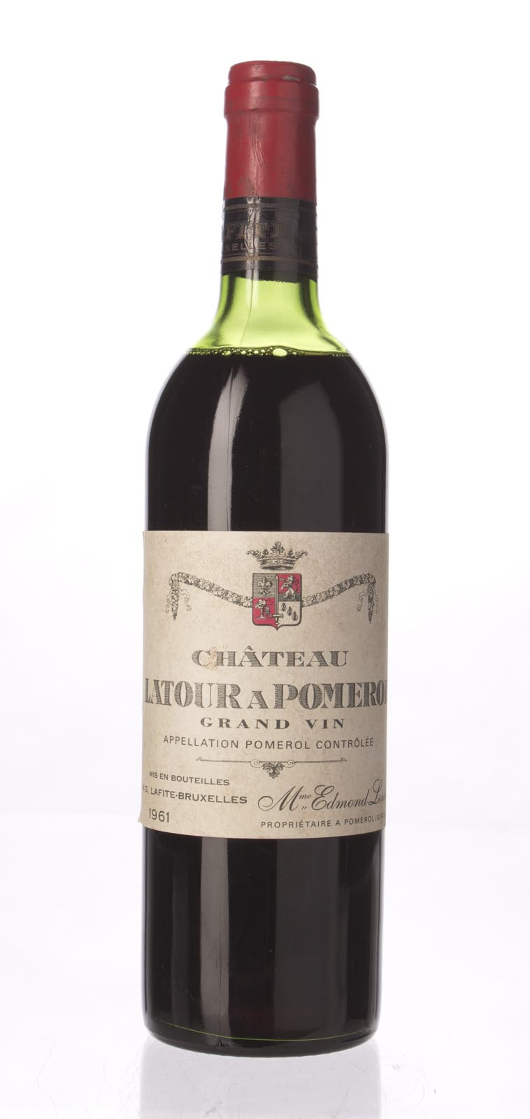 Latour a Pomerol 1961, 750ml (WA100, WS97) from The BPW - Merchants of rare and fine wines.